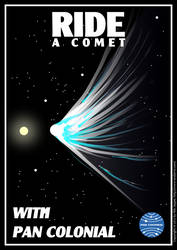 Ride a Comet by nilsjeppe