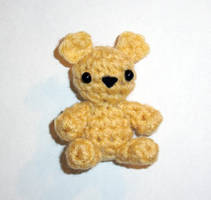Chevy the Cornmeal Teddy Bear by happysquidmuffin
