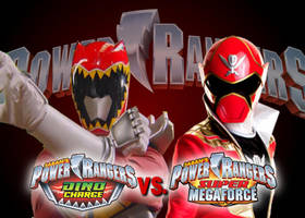 Dino Charge vs Super Megaforce by DerpMP6