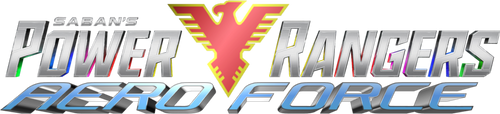 Power Rangers Aero Force logo by DerpMP6