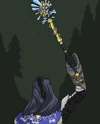 Nemesis, The Forest Shotgun by RigbyTheDrawguy