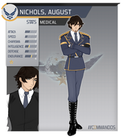 August Nichols // C0MMANDOS by Cresii