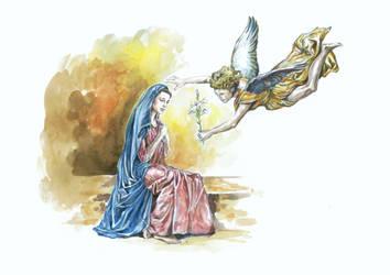 Anunciation by Cunachu