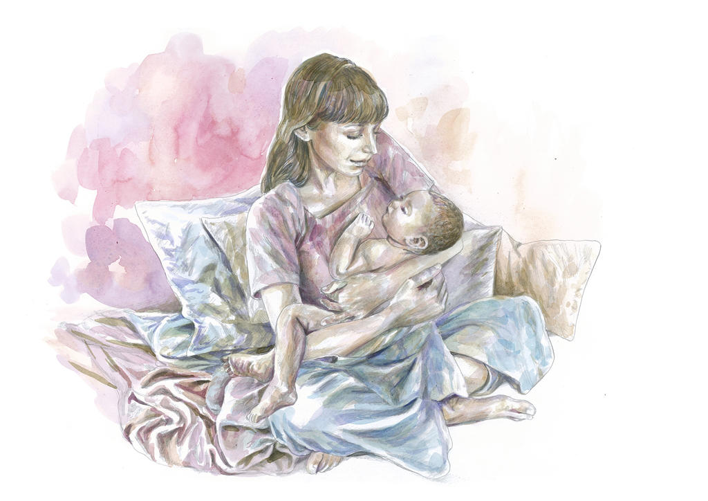 Mother and Child by Cunachu