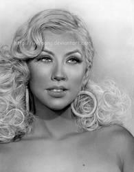 Christina Aguilera by wkfoong