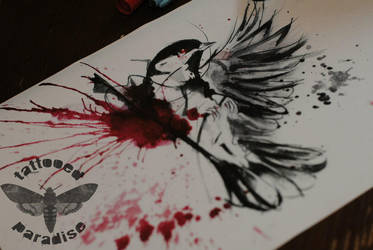 ink and blood by dopeindulgence