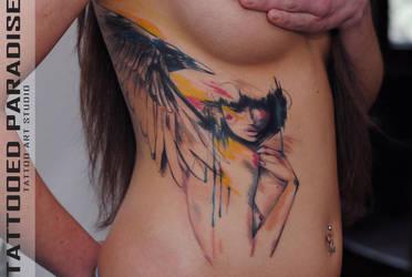 tattooed baby by dopeindulgence