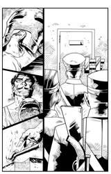 test ink  iron man samples pg2 by jorgecopo