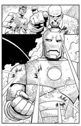 ironman_sample_pg5_by_ by jorgecopo
