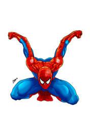 spiderman by jorgecopo