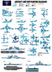 NLR Navy Painting Diagrams by lonewolf3878