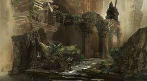 Ruins of Endor by shimamori