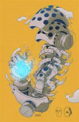 Genos's Arm by shimamori
