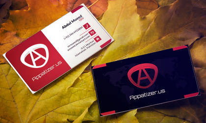 Appatizer Business Cards by amoeed