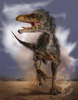 Utahraptor by A2812