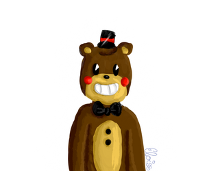 Toy Freddy - ''Old Disney Style'' by Eloiss