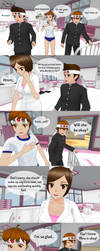 Always There - Page 4| Yandere Simulator Comic by Eloiss