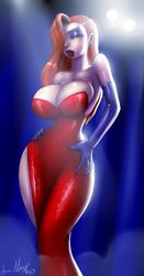 Jessica Rabbit by Marauder6272