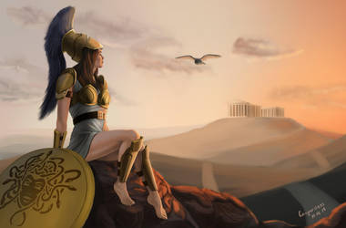 Athena by Cougar0893