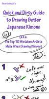 Tutorial: Draw Better Kimono by iheartsendai