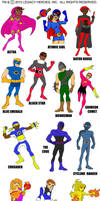 Heroic Forces- model sheet by LegacyHeroComics