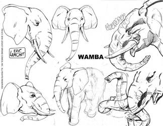 Wamba -character study by LegacyHeroComics
