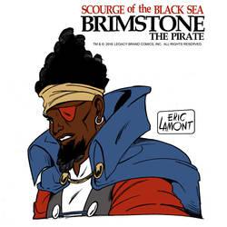 Brimstone -headshot by LegacyHeroComics