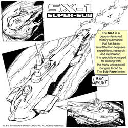 SX-1 concept art by LegacyHeroComics