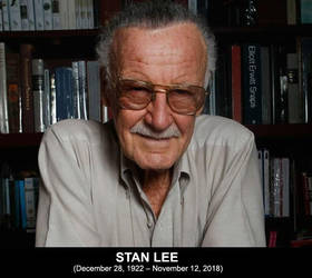 RIP Stan Lee (Dec 28, 1922 - Nov 12, 2018) by LegacyHeroComics