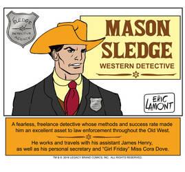Introducing... Mason Sledge by LegacyHeroComics