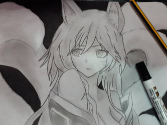 ahri by ssmnt