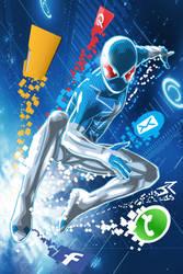 Digital Spiderman by JonathanPiccini-JP