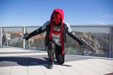 Red Hood Arkham Knight cosplay Ready to fight. by JonathanPiccini-JP