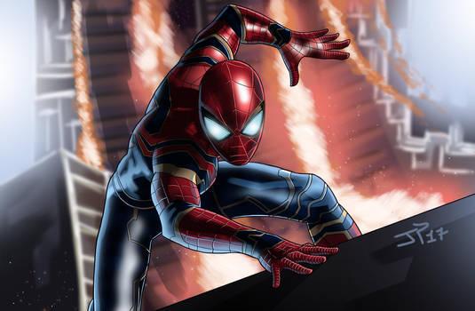 Spiderman Infinity War by JonathanPiccini-JP