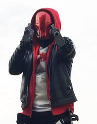 Red Hood Arkhan Knight Cosplay by JonathanPiccini-JP