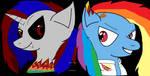 Rainbow Factory EnderDash and RainbowDash by EnderDash2019