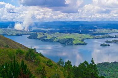 Sentani Lake by rosekampoong