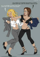 Catfight for the Don Episode Five by AngieAngelo