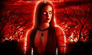 Camila Mendes as Satana Hellstorm by MsGodfrey
