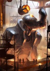 Dwarven Arch Titan by Lothrean