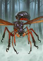 Blood Wasp by Lothrean