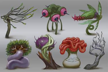 Weird Plant Ideas by Lothrean
