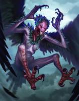 Flying Terror by Lothrean