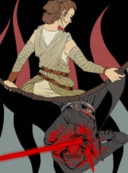 The Force Awakens by TigerMoonCat