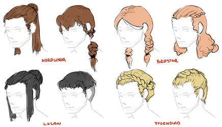 Gudsele Hair Examples + Beauty Standards by TigerMoonCat