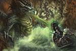 Dragon Ambush by kingmong