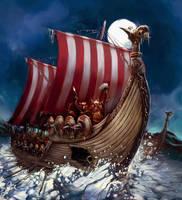 Vikings by kingmong