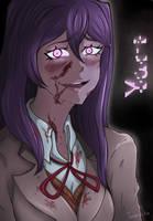 Yuri from Doki Doki Literature Club 2. by Tonamiko