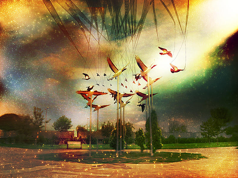 lullaby of birdies by KalbiCamdan