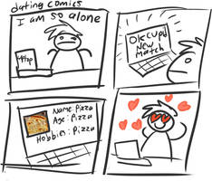 dating comics by Bogswallop